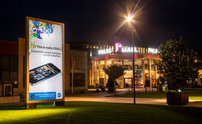 Prisma Backlit Palas Mall